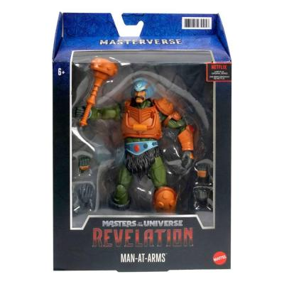 Masters of the Universe: Revelation Masterverse 2021 figurine Man-At-Arms 18 cm