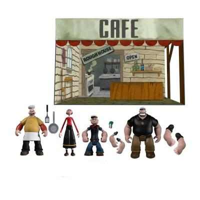 Popeye figurines 5 Points Deluxe Box Set 9 cm