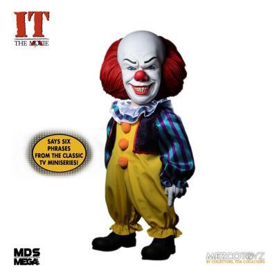 « Il » est revenu 1990 figurine MDS Deluxe Pennywise 38 cm - Mezco