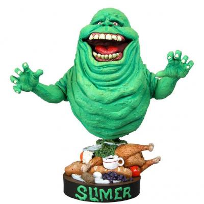 SOS Fantômes Head Knocker Slimer 18 cm