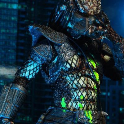 Predator 2 figurine Ultimate Battle-Damaged City Hunter 20 cm