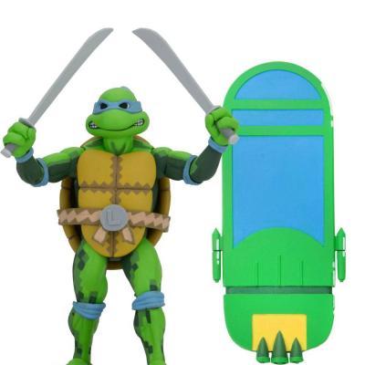 Les Tortues ninja: Turtles in Time série 1 figurine Leonardo 18 cm
