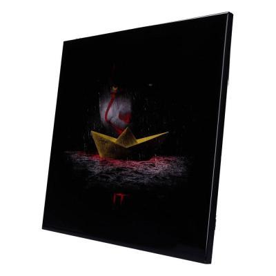 « Il » décoration murale résine MDF Crystal Clear Picture SS Georgie 32 x 32 cm