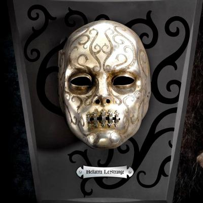 Harry Potter réplique masque Mangemort Bellatrix Lestrange