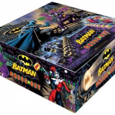 Batman jeu d´échecs Dark Knight vs Joker