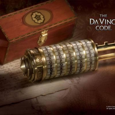 Da Vinci Code réplique 1/1 Cryptex