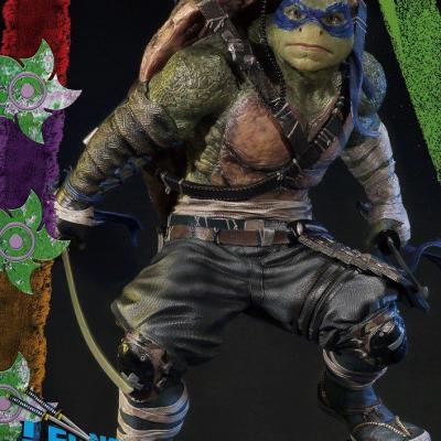 Les Tortues Ninja La Sortie de l'ombre statuette 1/4 Leonardo 61 cm