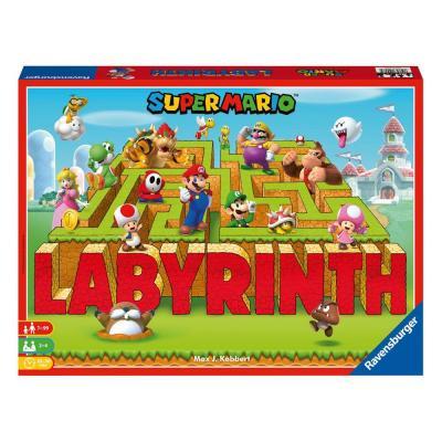 Super Mario jeu de plateau Labyrinth