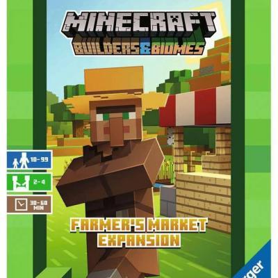 Minecraft extension jeu de plateau Builders & Biomes: Farmers Mark