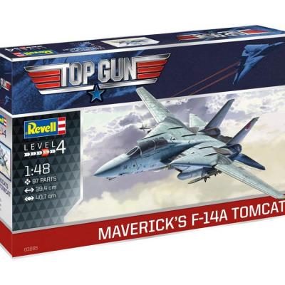 Top Gun maquette 1/48 Maverick´s F-14A Tomcat 40 cm