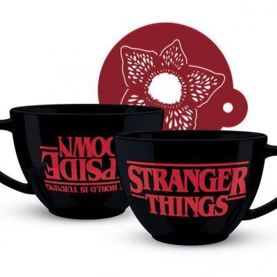 Stranger Things mug The World is Turning Upside Down