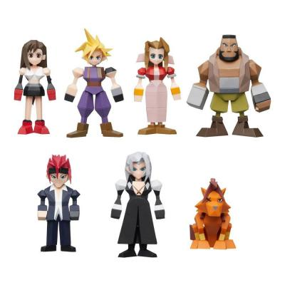 Final Fantasy VII Pack de 7 figurines Polygon 4 - 6 cm