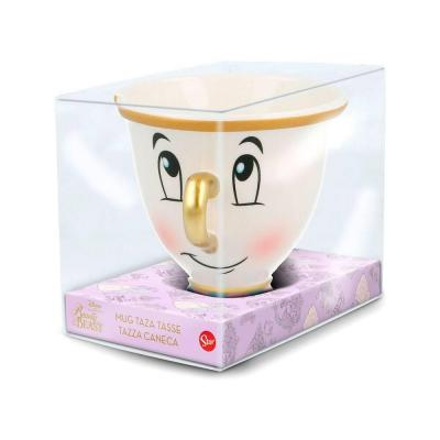 La Belle et la Bête mug 3D Chip