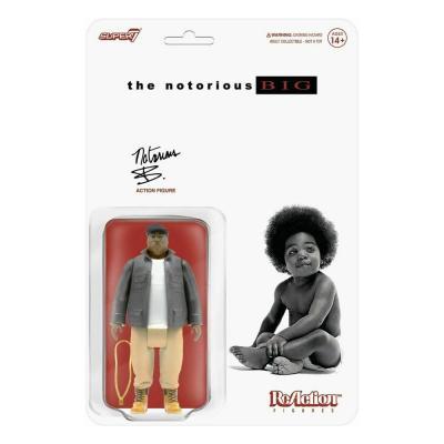 Notorious B.I.G. figurine ReAction Notorious B.I.G. 10 cm super7