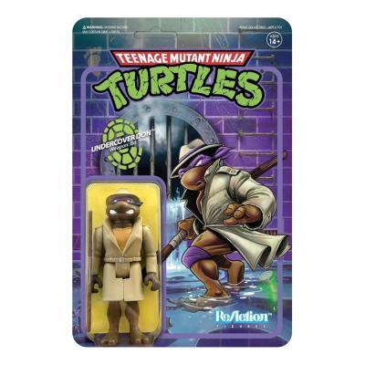 Les Tortues ninja figurine ReAction Undercover Donatello 10 cm super7