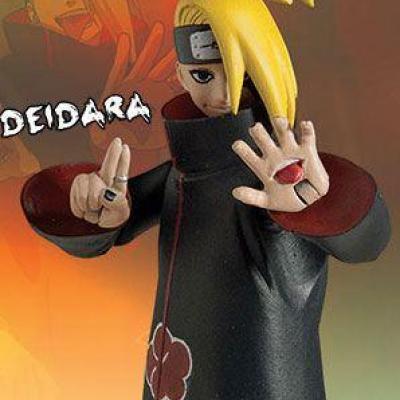 Naruto Shippuden Collection figurine Deidara 10 cm Toynami