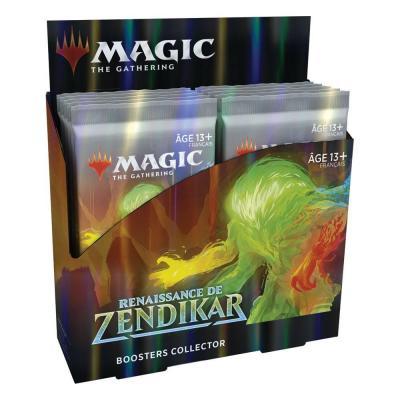 Magic the Gathering Renaissance de Zendikar présentoir boosters collectors (12) *FRANCAIS*