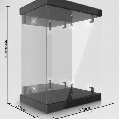 Master Light House présentoir vitrine acrylique avec éclairage pour figurines 1/6 (noir)