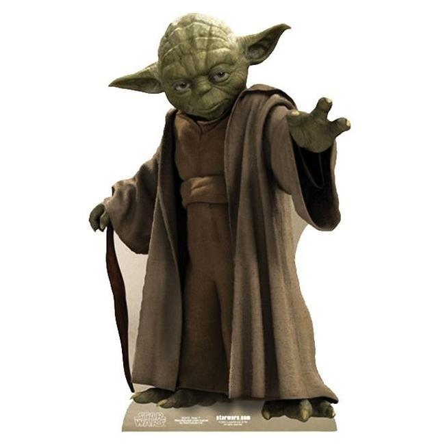 Yoda star war pappaufsteller 76cm 1