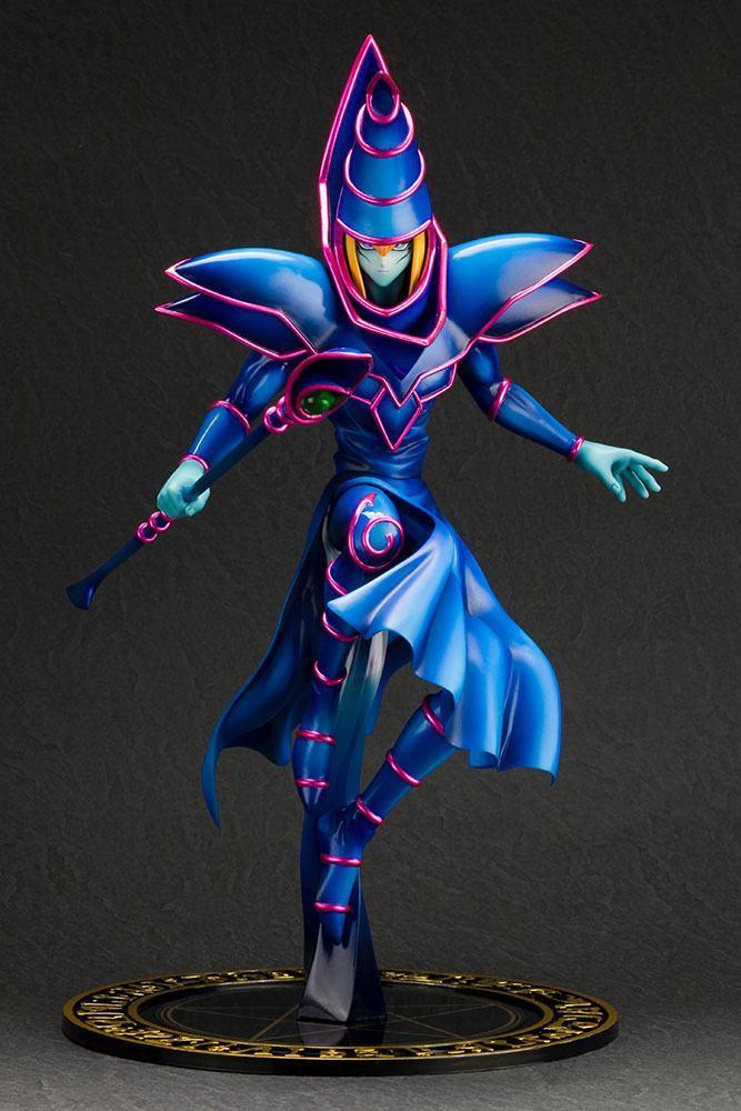 Yu gi oh statuette pvc artfx j 17 dark magician 30 cm 2