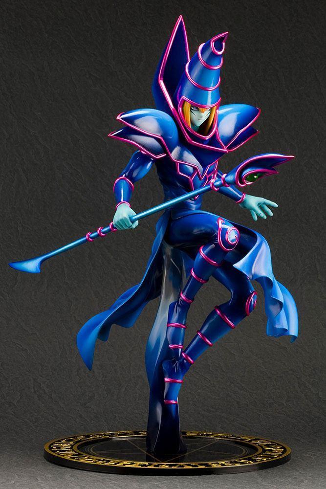 Yu gi oh statuette pvc artfx j 17 dark magician 30 cm 3
