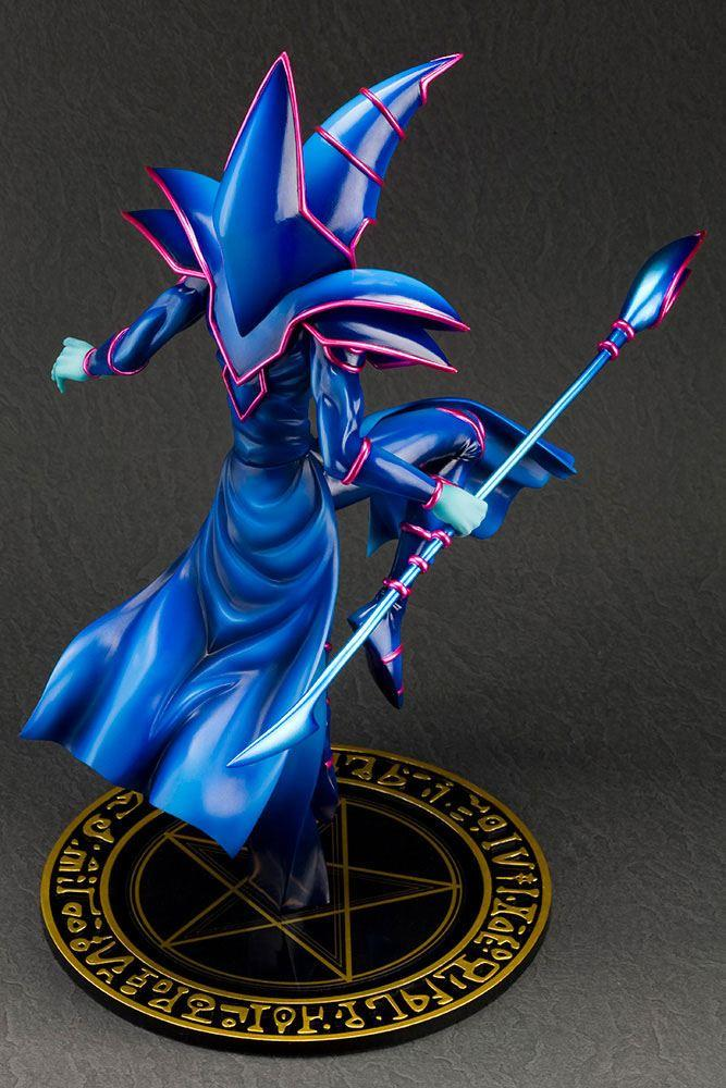 Yu gi oh statuette pvc artfx j 17 dark magician 30 cm 4