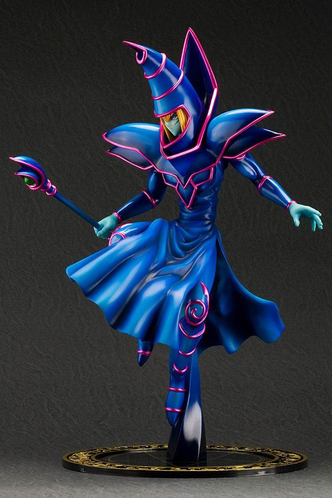 Yu gi oh statuette pvc artfx j 17 dark magician 30 cm 5